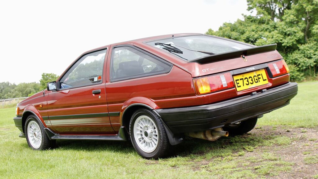 Toyota Corolla GT AE86 auction